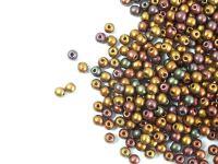 Round Beads Matte Metallic Iris Purple 3 mm - opakowanie