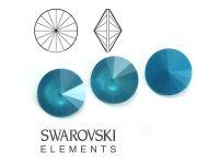 Rivoli Swarovski 12 mm Crystal Azure Blue - 1 sztuka