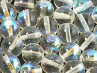 Round Beads Crystal AB 10 mm - 6 sztuk