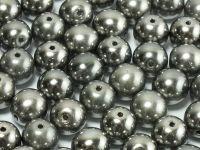 Round Beads Chrome 8 mm - 10 sztuk