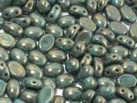Samos par Puca Opaque Green Turquoise Picasso - 5 g