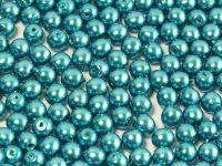 Round Beads Coated Turquoise Pearl 4 mm - opakowanie
