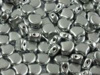 Ginko 7.5x7.5mm Matte Metallic Aluminium - 10 sztuk