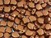 Ginko 7.5x7.5mm Matte Metallic Brass Gold - 10 sztuk