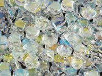 Ginko 7.5x7.5mm Crystal AB - 10 sztuk