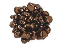 Ginko 7.5x7.5mm Dark Bronze - 10 sztuk