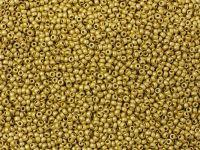 PRECIOSA Rocaille 11o-Metallic Yellow Gold Matte - 50 g