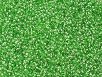 PRECIOSA Rocaille 11o-Silver-Lined Grass Green - 50 g