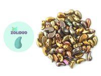 Zoliduo (Left) Matte Metallic Iris Gold 5x8 mm - 10 sztuk