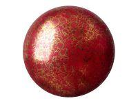 Cabochon par Puca Opaque Coral Red Bronze - 1 sztuka