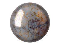 Cabochon par Puca Opaque Grey Bronze - 1 sztuka