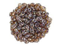 SuperDuo 2.5x5mm Amethyst - Rembrandt - 10 g