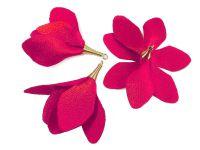 Kwiatek fuksjowy 55 mm - 1 sztuka