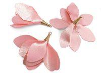 Kwiatek różowy 55 mm - 1 sztuka