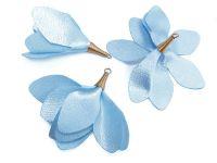 Kwiatek jasnoniebieski 55 mm - 1 sztuka
