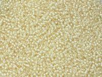 PRECIOSA Rocaille 11o-White-Lined Pale Yellow - 50 g