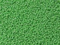PRECIOSA Rocaille 11o-Opaque Lustered Light Green - 50 g