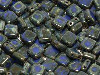 Tile 6mm Opaque Blue - Picasso - 20 sztuk