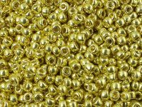 TOHO Round 8o-PF590 Permanent Finish - Galvanized Lemon Gold - 10 g