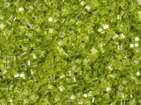 Miyuki Square 1.8mm-14 Silver-Lined Lime Green - 5 g