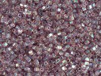 Miyuki Square 1.8mm-256 Trans-Rainbow Med Amethyst - 5 g