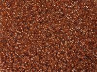 PRECIOSA Rocaille 11o-Dk Copper-Lined Crystal - 50 g