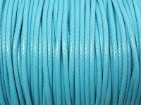 Sznurek lakierowany jasnoniebieski 2 mm - 2 m