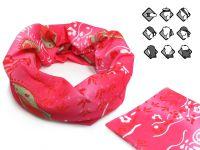 Komin wielofunkcyjny bandana różowa esy floresy