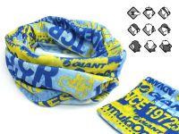 Komin wielofunkcyjny bandana niebiesko-żółta