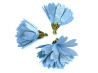 Kwiatek błękitny 30 mm - 1 sztuka