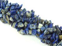 Lapis Lazuli sieczka 5-10 mm - długi sznur 84 cm