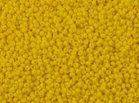 PRECIOSA Rocaille 11o-Opaque Yellow Matte - 50 g