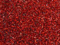 PRECIOSA Bugle 1-Silver-Lined Ruby - 10 g