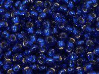 TOHO Round 6o-28 Silver-Lined Cobalt - 10 g
